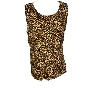 Clio woman's top size large. Sleeveless